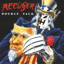 ACCUSSER- Double Talk LIM. 350 BLACK VINYL +Poster