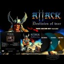 ATTACK- Destinies Of War LIM. 250 black vinyl