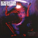 BENEDICTION- Grind Bastards LIM. 2LP SET clear blue vinyl