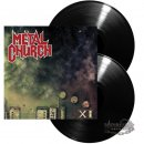 METAL CHURCH- XI LIM.2LP SET black vinyl