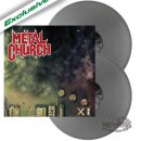 METAL CHURCH- XI LIM.300 2LP SET silver vinyl