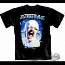 SCORPIONS- Blackout T-SHIRT Size L (Large)