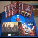SODOM- Code Red LIM.500 BLUE/RED/WHITE SPLATTER Vinyl