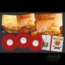 WARLORD- The Holy Empire LIM.200 RED VINYL 3LP SET...
