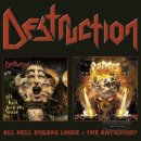 DESTRUCTION- All Hell Breaks Loose/The Antichrist 2CDs