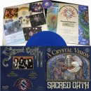SACRED OATH- A Crystal Vision LIM. 200 BLUE VINYL +patch