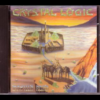 MANILLA ROAD- Crystal Logic CD +bonus