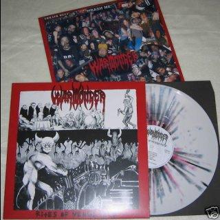 WARMONGER- Rites Of Vengeance LIM. SPLATTER LP only 200