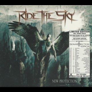 RIDE THE SKY- New Protection LIM. SLIPCASE CD +Bonustracks