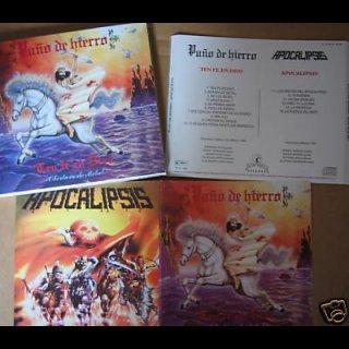PUNO DE HIERRO- Ten Fe En Dios / APOCALIPSIS- Same CD