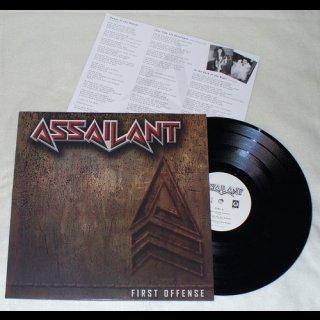 ASSAILANT- First Offense LIM. VINYL only 315