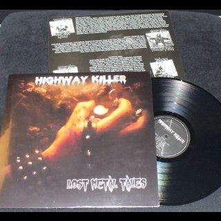 HIGHWAY KILLER- Lost Metal Tales LIM. VINYL