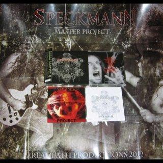 SPECKMANN- Master Project LIM. NUMB. DELUXE CD +bonus +poster