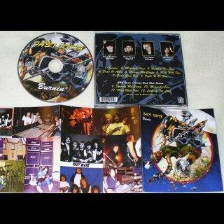 FAST KUTZ- Burnin´ CD +BBC radio session bonustracks