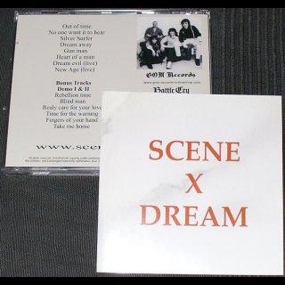 SCENE X DREAM- same LIM. 500 CD +BONUS