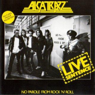 ALCATRAZZ- Live Sentence-No Parole From Rock N Roll LIM. VINYL LP feat. Malmsteen, Bonnet