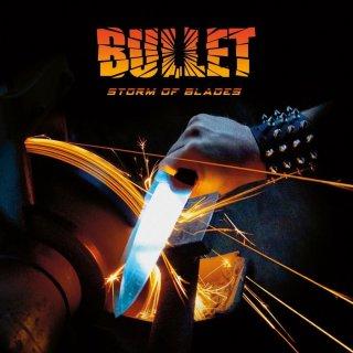 BULLET- Storm Of Blade LIM. BLACK VINYL LP foc