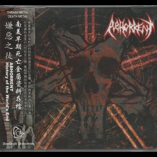 ABHORRENT- History Of The Wold´s End 2CD SET import +OBI