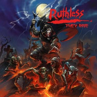 """RUTHLESS- They Rise CD+ """"Metal Without Mercy"""" Bonustracks"""