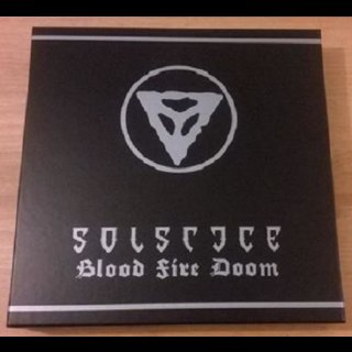 "SOLSTICE- Blood Fire Doom LIM. 250 BLACK VINYL 5 LP set +7"""