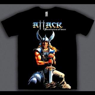 ATTACK- Destinies Of War  T-SHIRT Size L