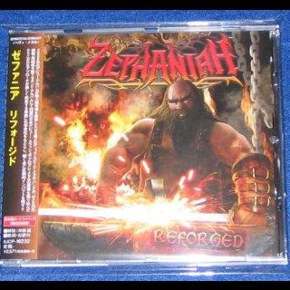 ZEPHANIAH- Reforged JAPAN CD +2 bonustr. OBI