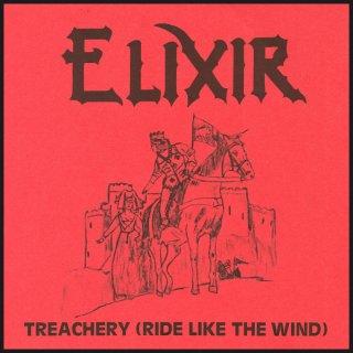 ELIXIR- Treachery (Ride Like The Wind) LIM. 500 CD
