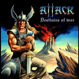ATTACK- Destinies Of War LIM. CD +bonus