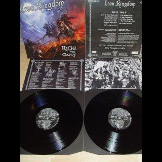 IRON KINGDOM- Ride For Glory LIM. BLACK VINYL