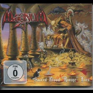 "MAGNUM- Sacred Blood ""Divine"" Lies LIM. 2 DISC SET Digipack"