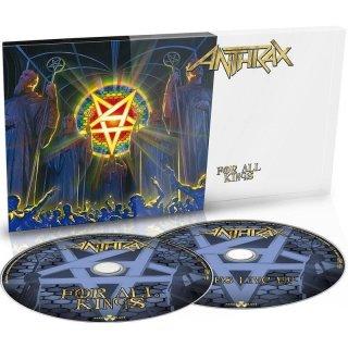 ANTHRAX- For All Kings LIM. DIGIPACK +bonus CD