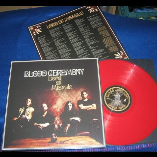 BLOOD CEREMONY- Lord Of Misrule LIM. RED VINYL