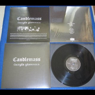 CANDLEMASS- Dactylis Glomerata LIM. BLACK VINYL