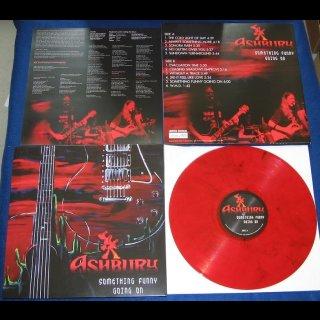 ASHBURY- Something Funny Going On LIM. 111 red vinyl!