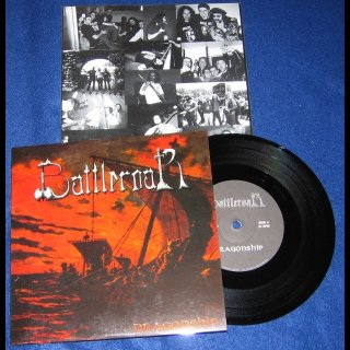 """BATTLEROAR- Dragonship RARE 7"""" SINGLE private"""