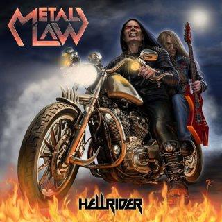 METAL LAW- Hellrider +BONUSTRACK