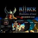 ATTACK- Destinies Of War LIM. 150 light blue vinyl
