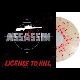 ASSASSIN- License To Kill LIM.+NUMB. 250 SPLATTER VINYL