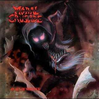 MORAL CRUSADE- An Act Of Violence CD + Immoral Condition Demo