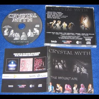 CRYSTAL MYTH- The Mountain LIM.+NUMB. 500 CD