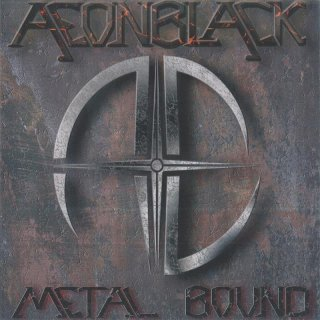 AEONBLACK- Metal Bound LIM.+NUMB.200 black vinyl