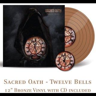 SACRED OATH- Twelve Bells LIM. 250 BRONZE VINYL +CD bonus