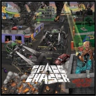 SPACE CHASER- Watch The Skies LIM. NEON YELLOW VINYL