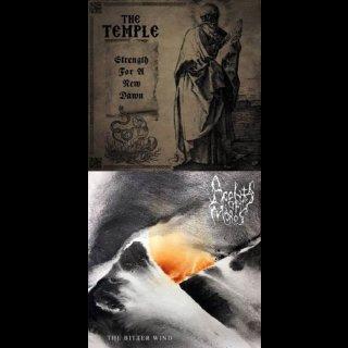 THE TEMPLE/ACOLYTES OF MOROS split EP black Vinyl