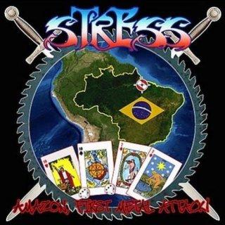 STRESS- Amazon, First Metal Attack CD +Bonustr.