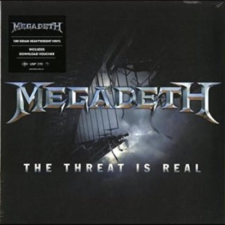 MEGADETH- The Threat Is Real/Foreign Policy LIM. 180g VINYL EP
