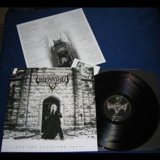UNEARTHED ELF- Into The Catacomb Abyss LIM. 200 BLACK VINYL +DL Code