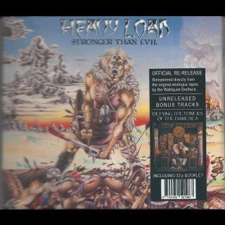 HEAVY LOAD- Stronger Than Evil LIM. DIGIPACK +6 Bonustracks