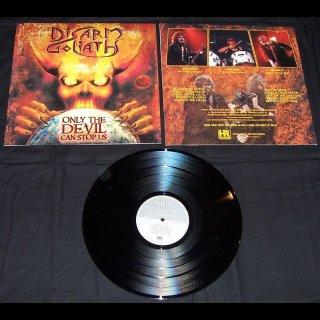 DISARM GOLIATH- Only The Devil Can Stop Us LIM. BLACK VINYL