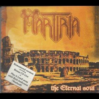 MARTIRIA- The Eternal Soul LIM.2CD DIGI +Bonus Live CD